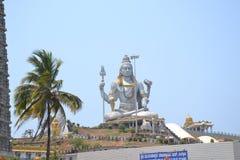 Shiva Statue - Murudeshwar Arkivfoto