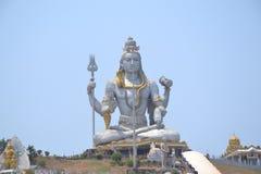 Shiva Statue - Murudeshwar Royaltyfri Foto