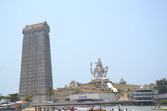 Shiva Statue - Murudeshwar stock photo