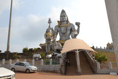 Shiva Statue - Murudeshwar royalty free stock photography