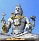 Shiva statue in Murudeswara Stock Images