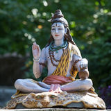 Shiva statue outdoor, India Royalty Free Stock Photo