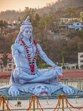 Shiva statue in Rishikesh Stock Photo