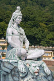 Shiva statue in Rishikesh, India Royalty Free Stock Photos