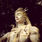 Shiva statue in Rishikesh Royalty Free Stock Images