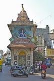 Shiva tempel royaltyfri fotografi