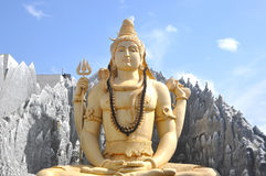 Shiva-Tempel Bangalore Stockfoto