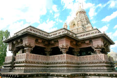 Shiva tempel, Indien arkivbild