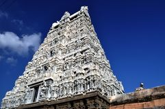 Shiva temple. Indian shiva temple located at southern Indian town called Thiruvannamalai Stock Photography