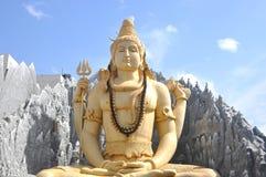Shiva temple Bangalore. Lord Shiva statue in Shiv Mandir in Bangalore Stock Photo