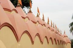 108 Shiva Temple bei Burdwan, Westbengalen, Indien Lizenzfreies Stockbild
