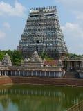 Shiva Temple, Chidambaram, Tamil Nadu, India Stock Image