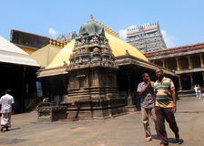 Shiva Temple, Chidambaram, Tamil Nadu, India Royalty Free Stock Photo