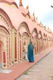 108 Shiva Temple en Burdwan, Bengala Occidental, la India Imagenes de archivo