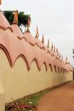 108 Shiva Temple på Burdwan, västra Bengal, Indien Arkivfoto