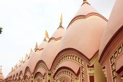 108 Shiva Temple på Burdwan, västra Bengal, Indien Arkivbilder