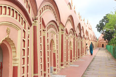 108 Shiva Temple på Burdwan, västra Bengal, Indien Royaltyfria Bilder