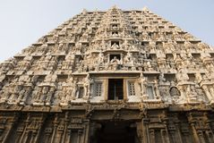 Shiva Temple, Thiruvannamalai, Tamil Nadu, India Royalty Free Stock Photos
