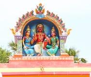 Shiva temple top Royalty Free Stock Photos