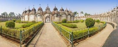 108 Shiva Temples de Kalna, Burdwan Imagens de Stock Royalty Free