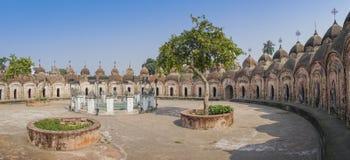 108 Shiva Temples de Kalna, Burdwan Fotografia de Stock Royalty Free