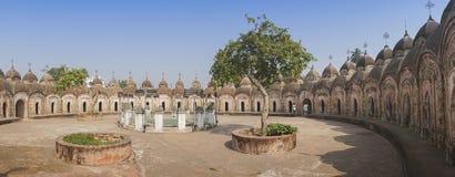 108 Shiva Temples de Kalna, Burdwan Fotos de Stock