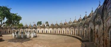 108 Shiva Temples de Kalna, Burdwan Fotos de Stock Royalty Free