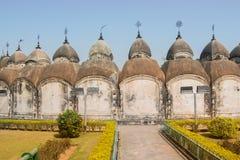 108 Shiva Temples von Kalna, Burdwan Lizenzfreie Stockfotografie