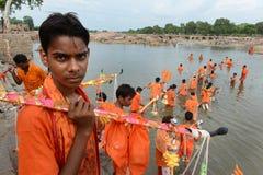 Shiva Worship Stock Photo