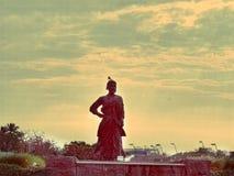 shivaji maharaj pic dichtbij door mumbailuchthaven Stock Afbeelding
