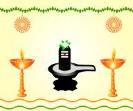 Shivalinga - The Indian God Royalty Free Stock Images