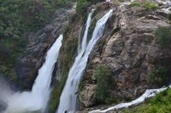Shivanasamudra瀑布 免版税库存图片
