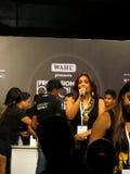 Shivani Sharma at Beauty Expo. Venue- Professional Beauty Expo, Mumbai Date - 6th October 2015 royalty free stock photography