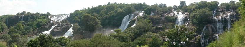 Shivansamudra Waterfalls Stock Photo