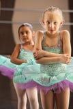 Shivering Ballerinas Royalty Free Stock Image