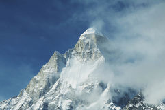 Shivling peak royalty free stock image