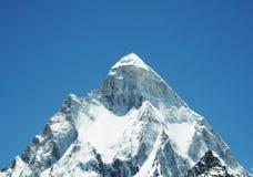 Shivling peak Stock Image