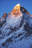 Shivling peak Royalty Free Stock Images