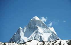 Shivling peak Stock Photo