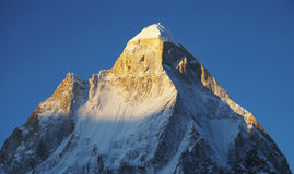 Shivling peak Royalty Free Stock Photography
