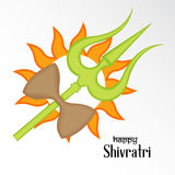 Shivratri. Illustration of a banner for Happy Shivratri Stock Photos