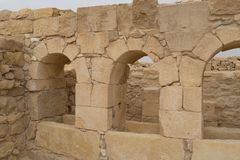 Shivta archaeology ruins in israel Stock Photography