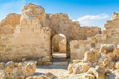 Shivta - a Nabataean Town Stock Image