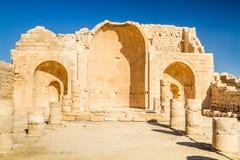 Shivta - a Nabataean Town Royalty Free Stock Photo