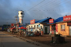 Shiwei Russian nationality townships. Is located in Sino-Russia frontier area, in the territory of Hulunbeier Ergun City in Inner Mongolia. It is one of the stock images