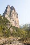 Shiweiyan(rock) and brook Royalty Free Stock Photos