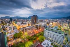Shizuoka City, Japan Skyline Royalty Free Stock Images