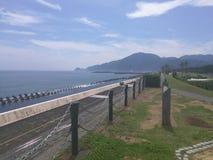 Shizuoka plaża obraz royalty free