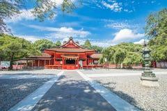 Shizuoka Prefecture ,Japan - August 19, 2017:Fujisan Sengen Shri Stock Photo