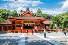 Shizuoka Prefecture ,Japan - August 19, 2017:Fujisan Sengen Shri Royalty Free Stock Photos